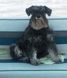 Lexi on Boat 2