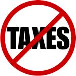 no taxes